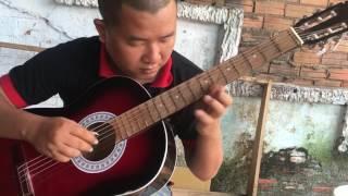 Bỏ quên cây đàn - test guitar 450.000d- 0906.39.1557