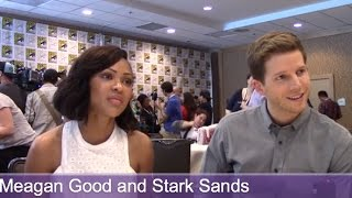 Minority Report - Stark Sands, Meagan Good Interview