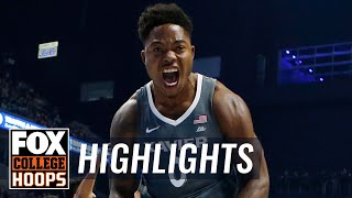 Xavier vs Marshall | Highlights | FOX COLLEGE HOOPS