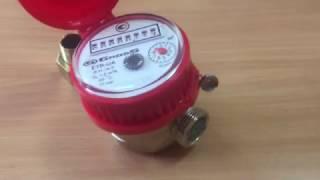 Обзор счетчик для горячей воды Gross ETR-UA 15/80