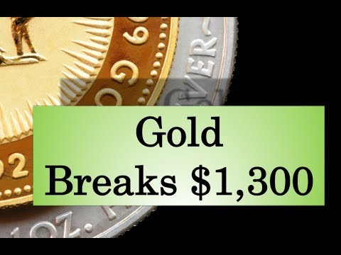 Gold & Silver Price Update - August 30, 2017 + Gold Breaks $1,300