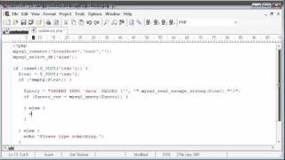 Beginner PHP Tutorial - 184 - POSTing Data Part 5