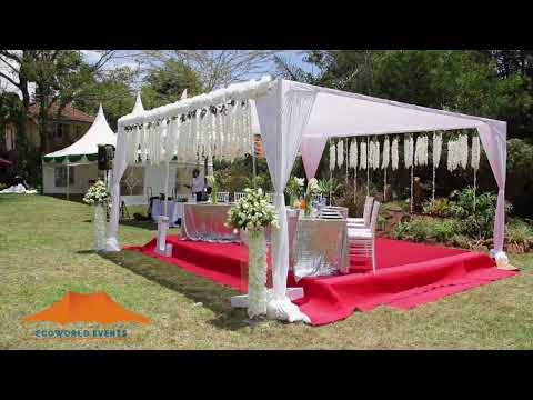 Wedding decor and tents