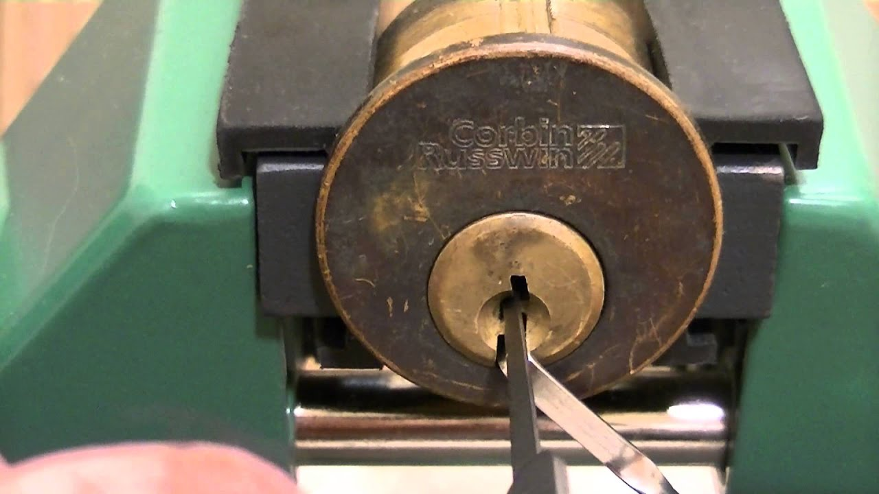 Corbin Russwin 6 Pin Mortise Cylinder Youtube
