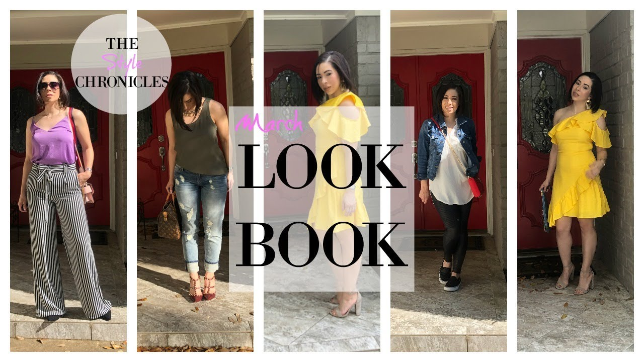 March Look Book | Spring Outfit Ideas | What to Wear
