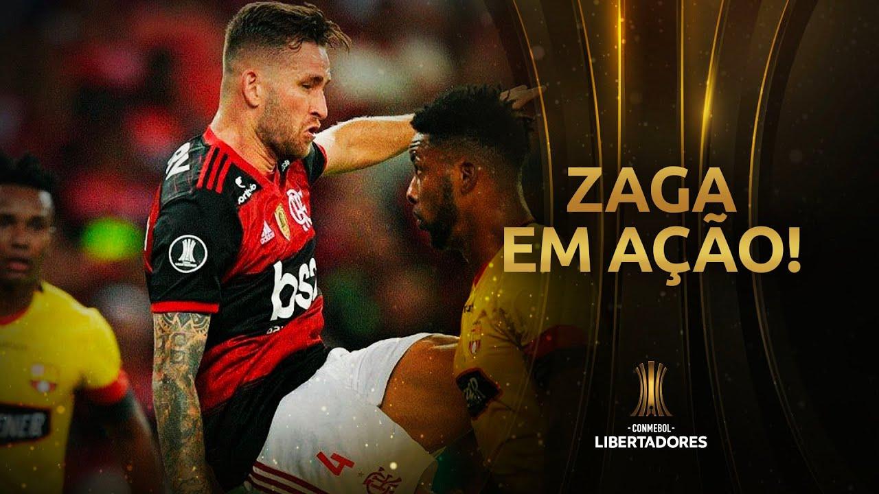 Gustavo Henrique e Léo Pereira, a zaga do Flamengo na Libertadores