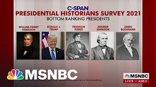 Trump Ranks Among The Worst Presidents In History, According To Survey