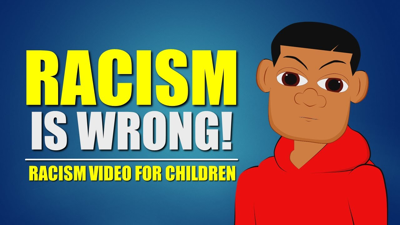 Racism is Wrong! Watch this educational video for children on racism (Elementary Schools Bullying)