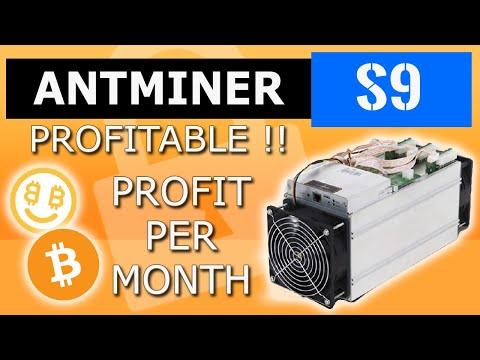 Antminer S9 Profitable ? Nicehash - Bitmain S9 Profit Per Month - Bitcoin Bitmain Miner