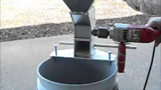 Drill Powered Nut Cracker