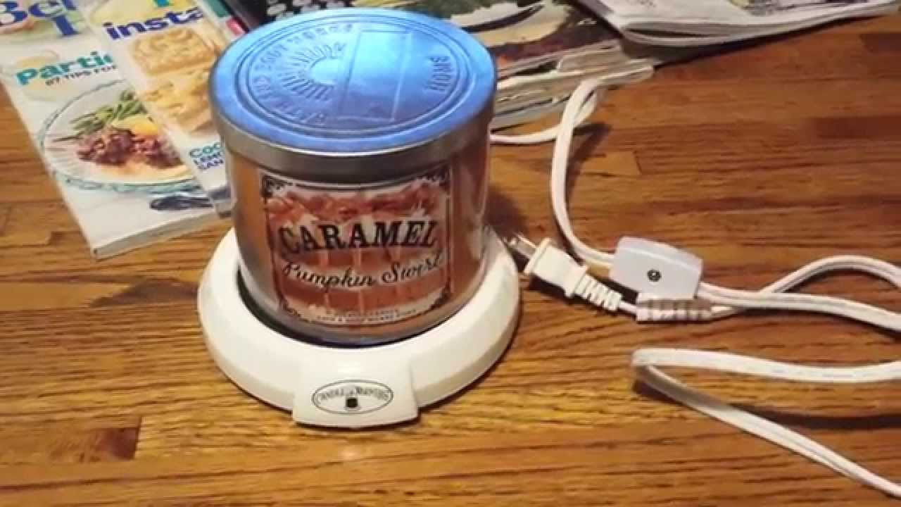 CANDLE WARMER REVIEW ♨ - YouTube