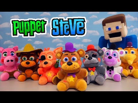 Five Nights at Freddy's FUNKO Pizzeria Simulator PLUSH Complete Set Unboxing! thumbnail