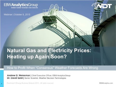 Natural Gas and Electricity Prices: Heating Up Again Soon?