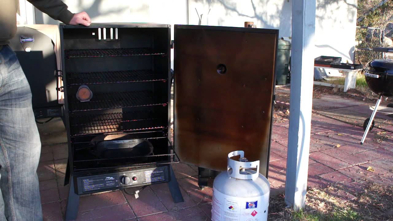 Masterbuilt Extra Wide Smoker Overview Youtube