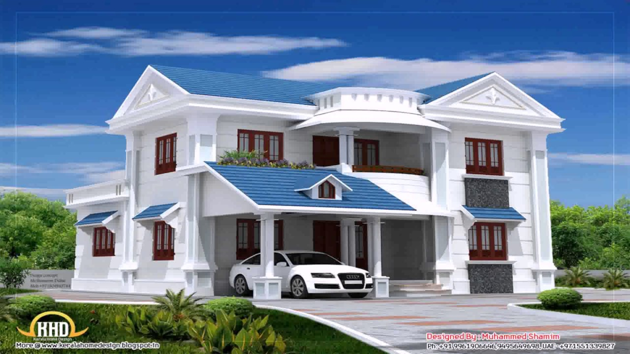 Residential house design in nepal youtube for Different house design styles