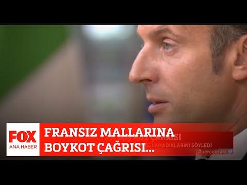 Fransız mallarına boykot çağrısı! 27 Ekim 2020 Selçuk Tepeli ile FOX Ana Haber