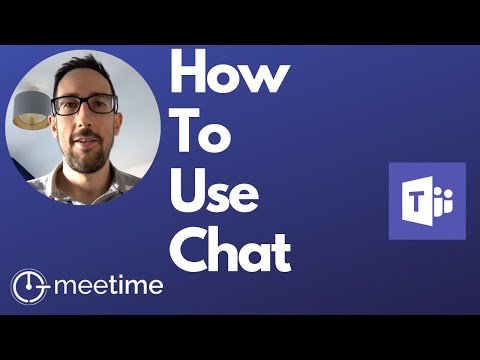 How To Use Microsoft Teams Chat - Microsoft Teams Tutorial 2019