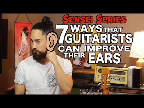 How Guitarists Can Improve Their Ears
