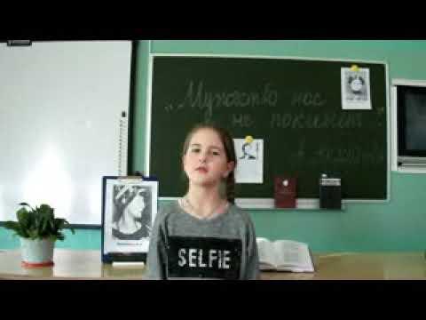 Изображение предпросмотра прочтения – ДарьяПопкова читает произведение «Дневник Тани Савичевой» П.А.Великжанина
