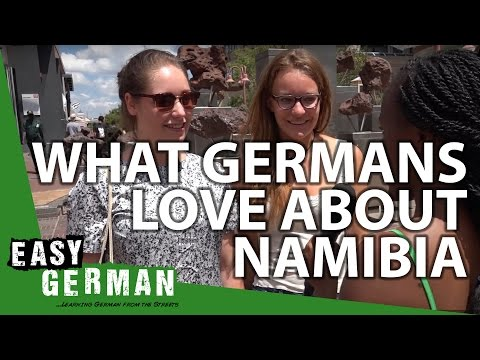 What Germans love about Namibia   Easy German 134