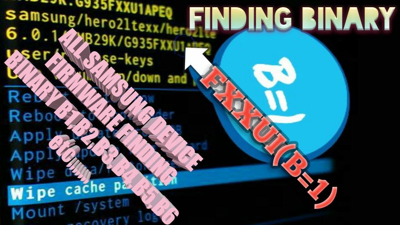 how to find samsung binary firmware(sammobile)