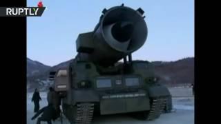 شاهد بالفيديو .. عملية إطلاق الصاروخ البالستي الكوري الشمالي الذي هز الرأي العام العالمي