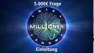 5.000€ Frage - Einleitung | Millionenshow Soundeffect
