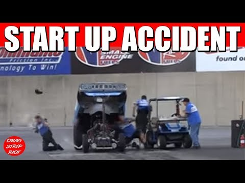 2013 Cavalcade of Funny Cars Drag Racing Nitro Car Race Accident  Video