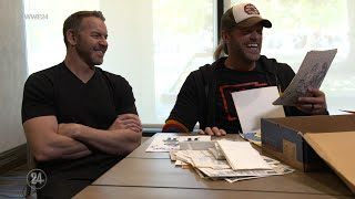 Edge opens up a box full of memories: WWE 24 extra
