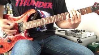 メガデス の ホーリー ウォーズ の ギター を 弾いてみました.