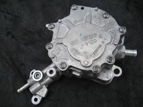 Wymiana pompy tandemowej (podciśnienia i paliwa) w silnikach TDI ( vacu pompa )