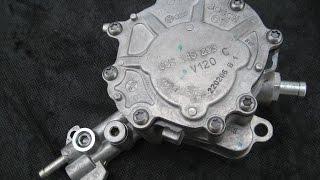 wymiana pompy tandemowej podciśnienia i paliwa w silnikach tdi vacu pompa