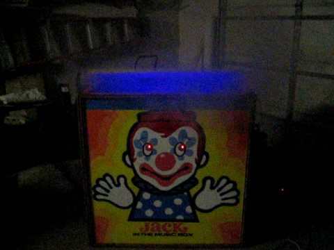Halloween Jack In The Box Prop.Halloween Jack In The Box For Sale