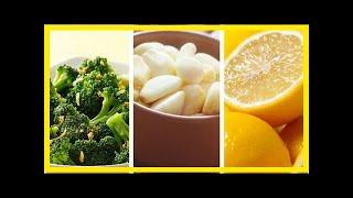 Weight loss and health: broccoli, lemon garlic &