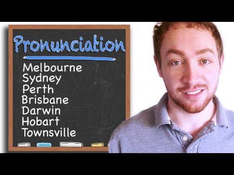 How To Pronounce Australian City Names