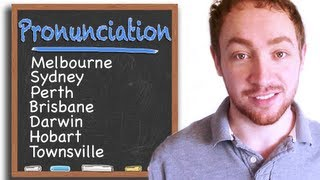 How to Pronounce Australian City Names