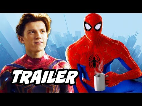 Spider-Man Into The Spider-Verse Trailer and Spider-Man Far From Home Trailer Explained