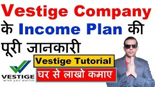 Vestige income plan | Vestige plan in Hindi | Income plan of Vestige | Business plan of Vestige