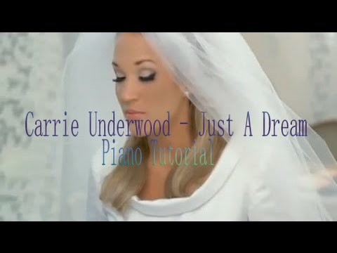 Carrie Underwood - Just A Dream Piano Tutorial