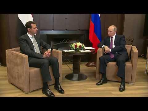Esad'dan Rus halkına teşekkür