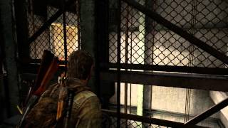 The Last of Us: Remastered - Pittsburgh Hotel: Joel Elevator Shaft Sequence (Scared Ellie) PS4