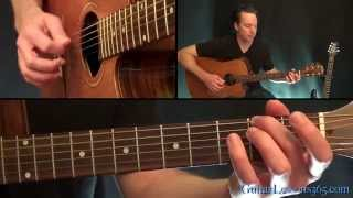 Civil War Guitar Lesson Pt.1 - Guns N' Roses - Acoustic Parts