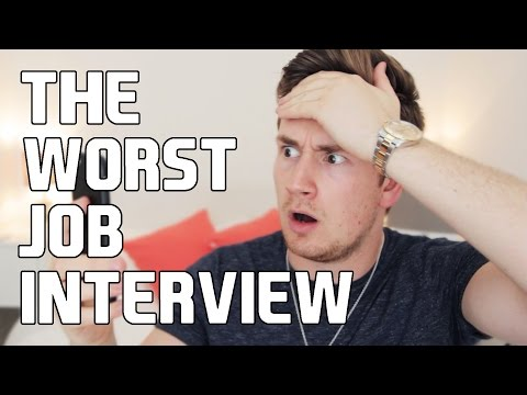 THE WORST JOB INTERVIEW AD