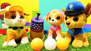 Ein neues Spiel für Chase und die Paw Patrol - Kindervideo auf Deutsch