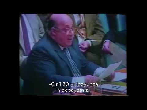 Rauf Raif Denktaş - Birleşmiş Milletler Konuşması #Halkbilir