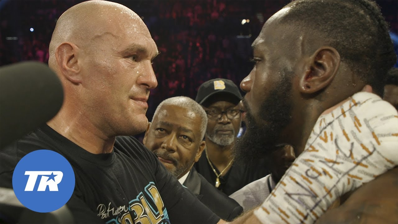 Go behind-the-scenes as Tyson Fury knocks out Deontay Wilder in historic fight