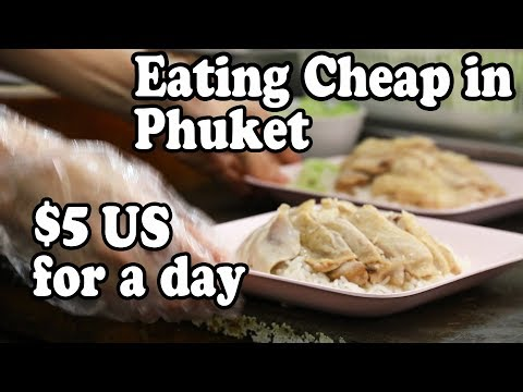 Phuket Food:Cheap Eats: Eating On $5 US For A Day In Patong | Cheap Thai Food In Patong Restaurants