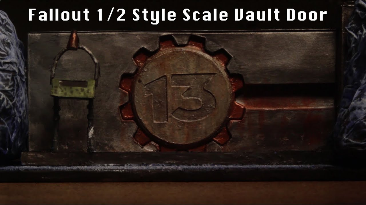 Fallout Vault Door fallout - vault 13 seal-n-safe scale model intro - youtube