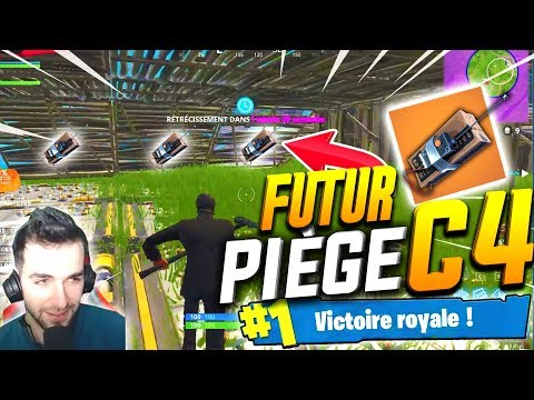 🥇J'AI VOULU TEST UN FUTUR PIÈGE AU C4 EN DUO TROLL ! ► Top 1 Fortnite Battle Royale