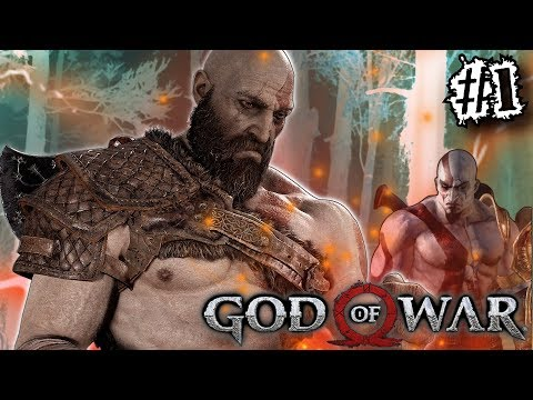 KRATOS EVOLUTION! GOD OF WAR 4 (2018) Gameplay #1